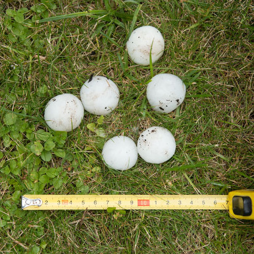 hail that can cause storm damage to roof